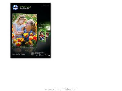HP PAPEL FOTOGRAFICO PAQUETE 25 HOJAS A4 200 G SEMISATINADO Q5451A