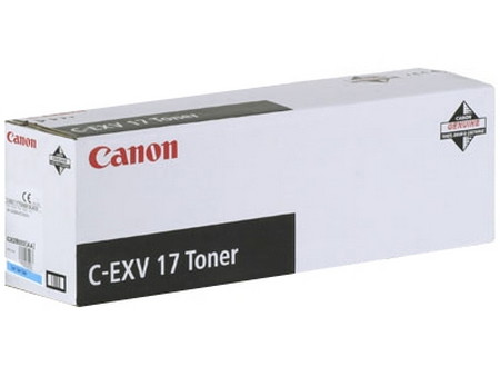 CARTUCHO DE TÓNER MAGENTA CANON C-EXV-17 30000 PÁGINAS