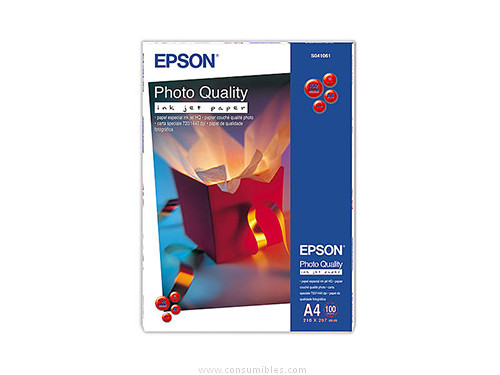 PAPEL ESPECIAL HQ 720 PPP DIN A4 100 HOJAS EPSON S041061