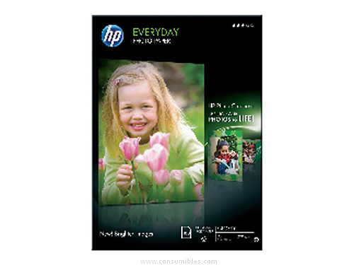 PAPEL FOTOGRAFICO SEMI-GLOSSY 1N 70 GR-M2 DIN A4 100 HOJAS HP R08_15