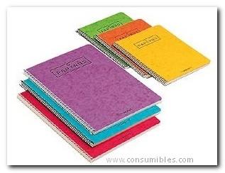 Comprar Cuadernos con espiral gama escolar 086394 de Papyrus online.