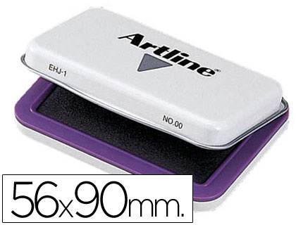 Tampones tinta ARTILINE TAMPON ARTLINE Nº 0 VIOLETA -56X90 MM