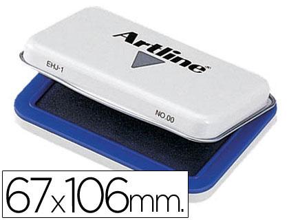 Tampones tinta ARTILINE TAMPON ARTLINE Nº 1 AZUL -67X106 MM