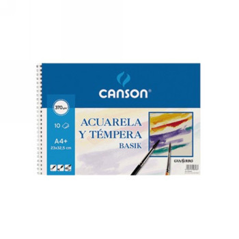 CANSON PAPEL DIBUJO 10 HOJAS A4 370 GR 200400698