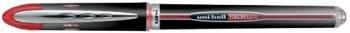 ENVASE DE 12 UNIDADES ROTULADOR UNI-BALL ROLLER UB-205 VISION ROJO 0,5 MM -UNIDAD