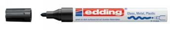 ENVASE DE 10 UNIDADES ROTULADOR EDDING PUNTA FIBRA 750 NEGRO PUNTA REDONDA 3,5 MM 750-1