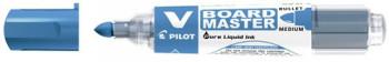 ENVASE DE 10 UNIDADES ROTULADOR PILOT V BOARD MASTER PARA PIZARRA BLANCA AZUL TINTA LIQUIDA TRAZO 2,3MM