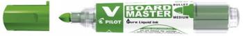 ENVASE DE 10 UNIDADES ROTULADOR PILOT V BOARD MASTER PARA PIZARRA BLANCA VERDE TINTA LIQUIDA TRAZO 2,3MM