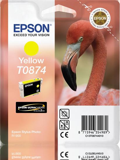 Comprar cartucho de tinta C13T08744010 de Epson online.
