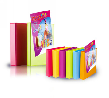 ENVASE DE 6 UNIDADES IBERPLAS CARPETA ANILLAS COLORFUN A4 4-40 MM COLORES SURTIDOS PERSONALIZABLE 8440FCM490