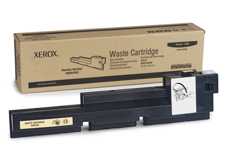 Comprar bote de residuos 106R01081 de Xerox-Tektronix online.