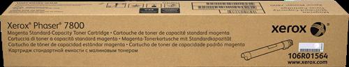 CARTUCHO DE TONER MAGENTA ESTÁNDARD XEROX-TEKTRONIX 106R1564