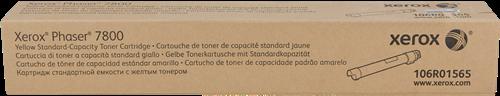 CARTUCHO DE TÓNER AMARILLO ESTÁNDARD XEROX-TEKTRONIX 106R1565