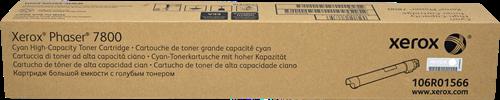 CARTUCHO DE TONER CIAN ALTA XEROX-TEKTRONIX 106R1566