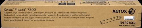 CARTUCHO DE TONER MAGENTA ALTA XEROX-TEKTRONIX 106R1567