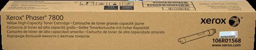 Cartucho de toner CARTUCHO DE TÓNER AMARILLO ALTA XEROX-TEKTRONIX 106R1568
