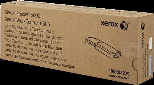 CARTUCHO DE TONER CIAN ALTA XEROX-TEKTRONIX 106R2229