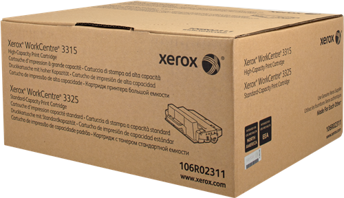CARTUCHO DE TÓNER NEGRO XEROX-TEKTRONIX 106R2311