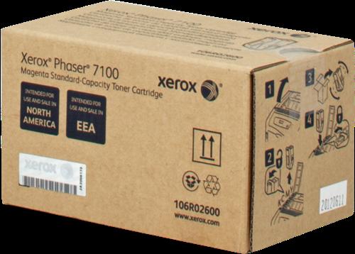 Comprar cartucho de toner 106R02600 de Xerox-Tektronix online.