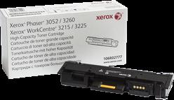 Comprar cartucho de toner alta capacidad 106R02777 de Xerox online.