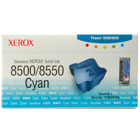 Cartuchos de tinta CARTUCHOS DE TINTA 3 BARRAS TINTA SOLIDA CIAN XEROX-TEKTRONIX 108R669