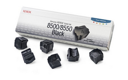Cartucho de tinta CARTUCHOS DE TINTA 6 BARRAS TINTA SOLIDA NEGRO XEROX-TEKTRONIX 108R672
