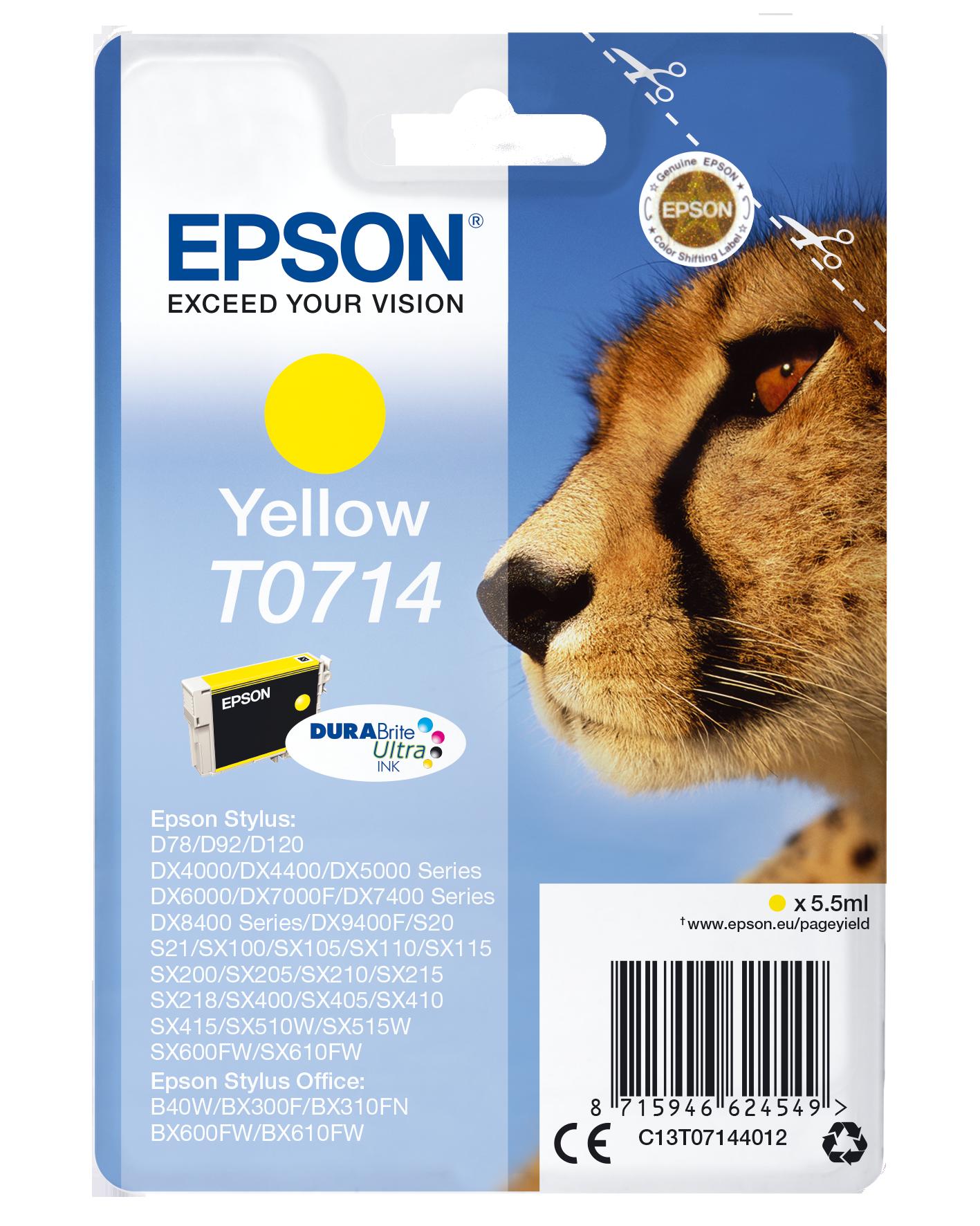 Comprar Cartucho de tinta C13T07144022 de Epson online.