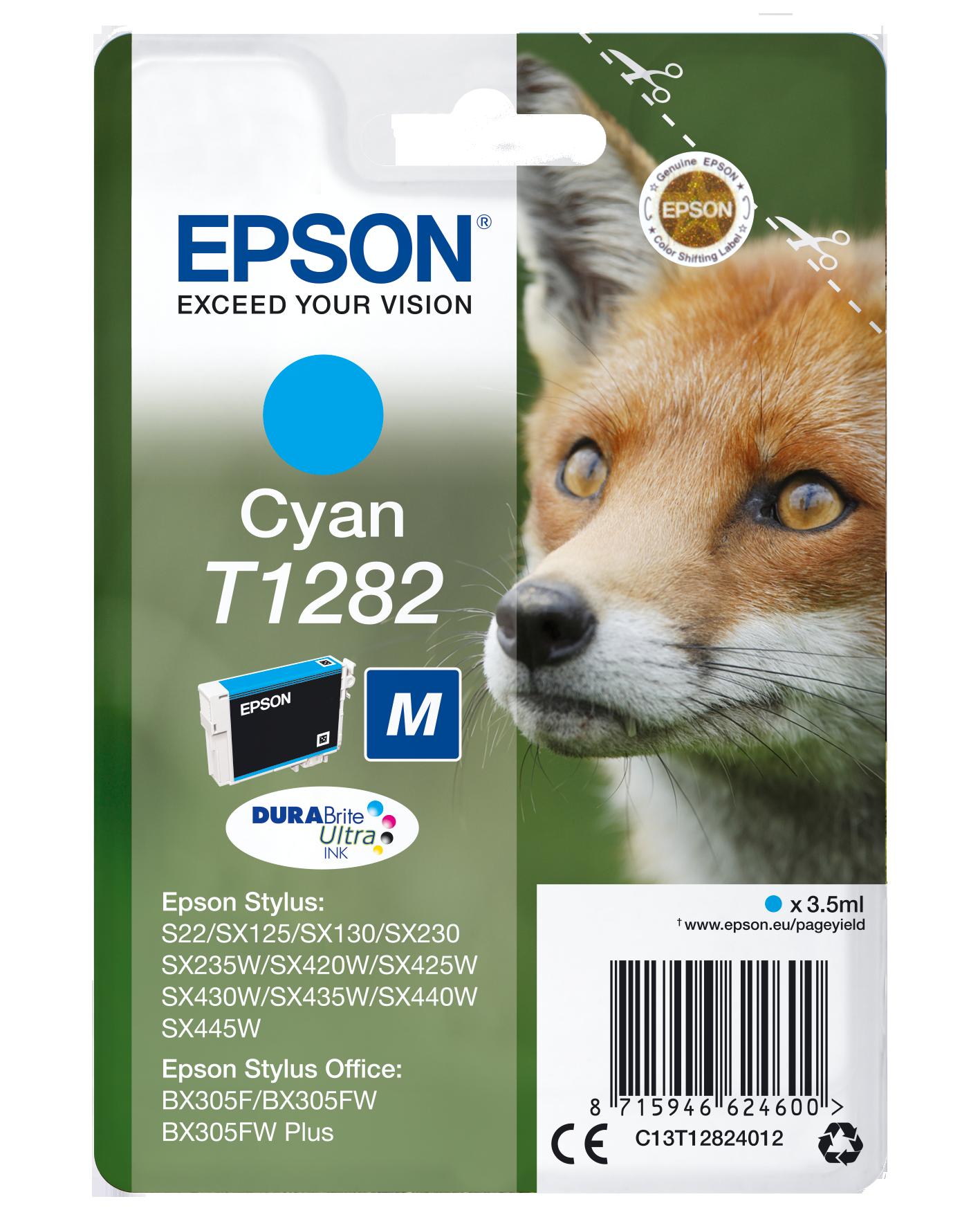 Comprar Cartucho de tinta C13T12824022 de Epson online.