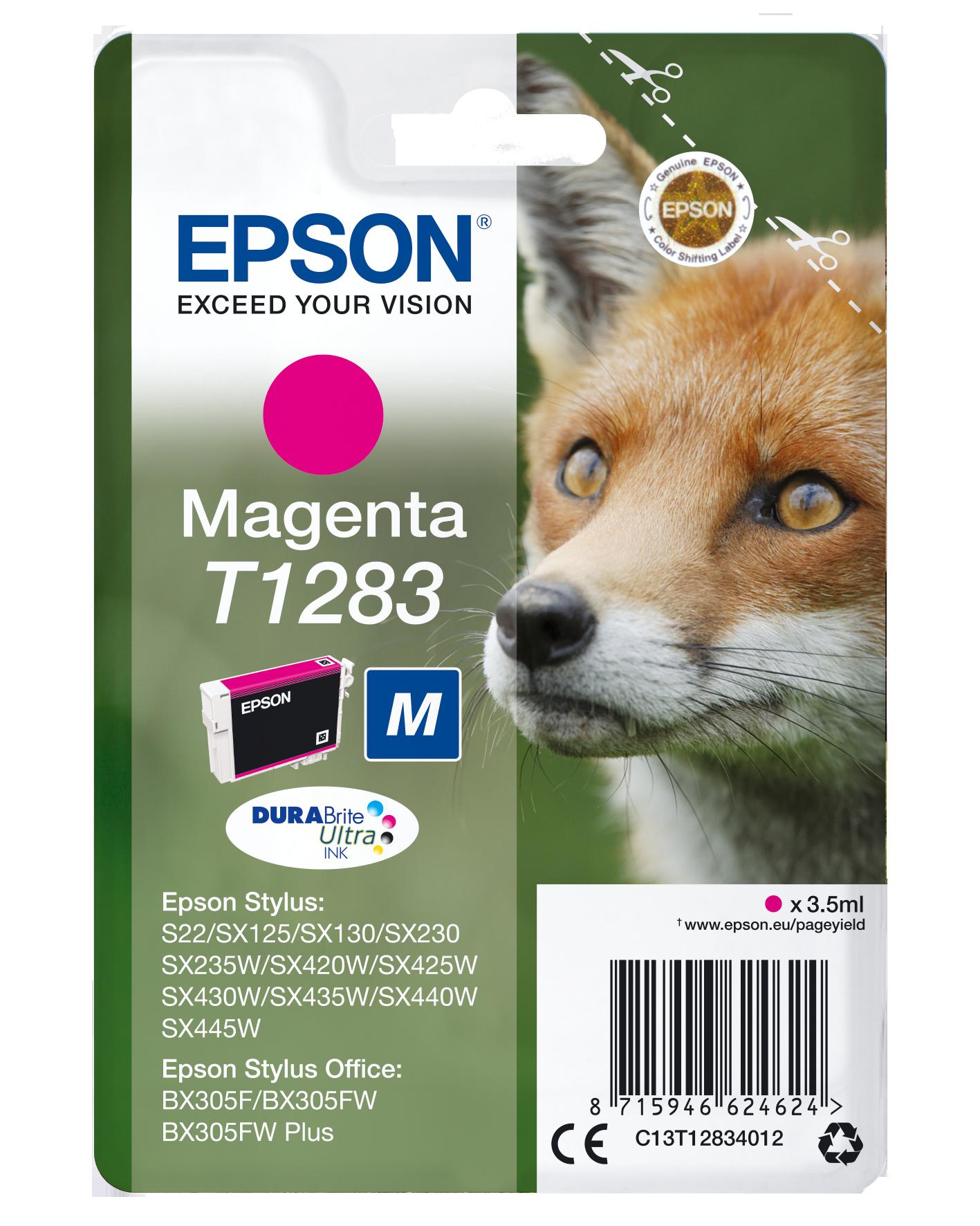 Comprar Cartucho de tinta C13T12834022 de Epson online.