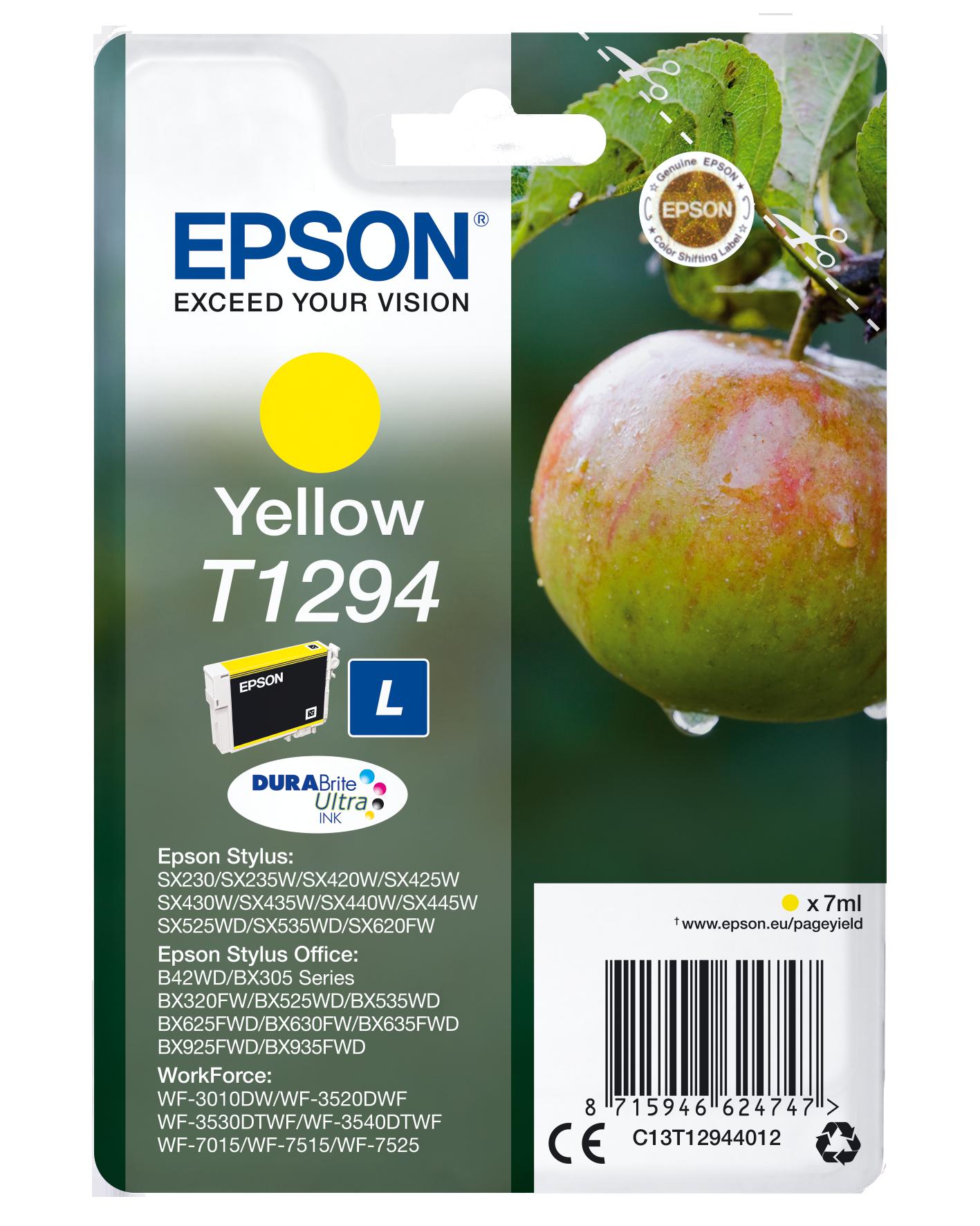 Comprar Cartucho de tinta C13T12944022 de Epson online.