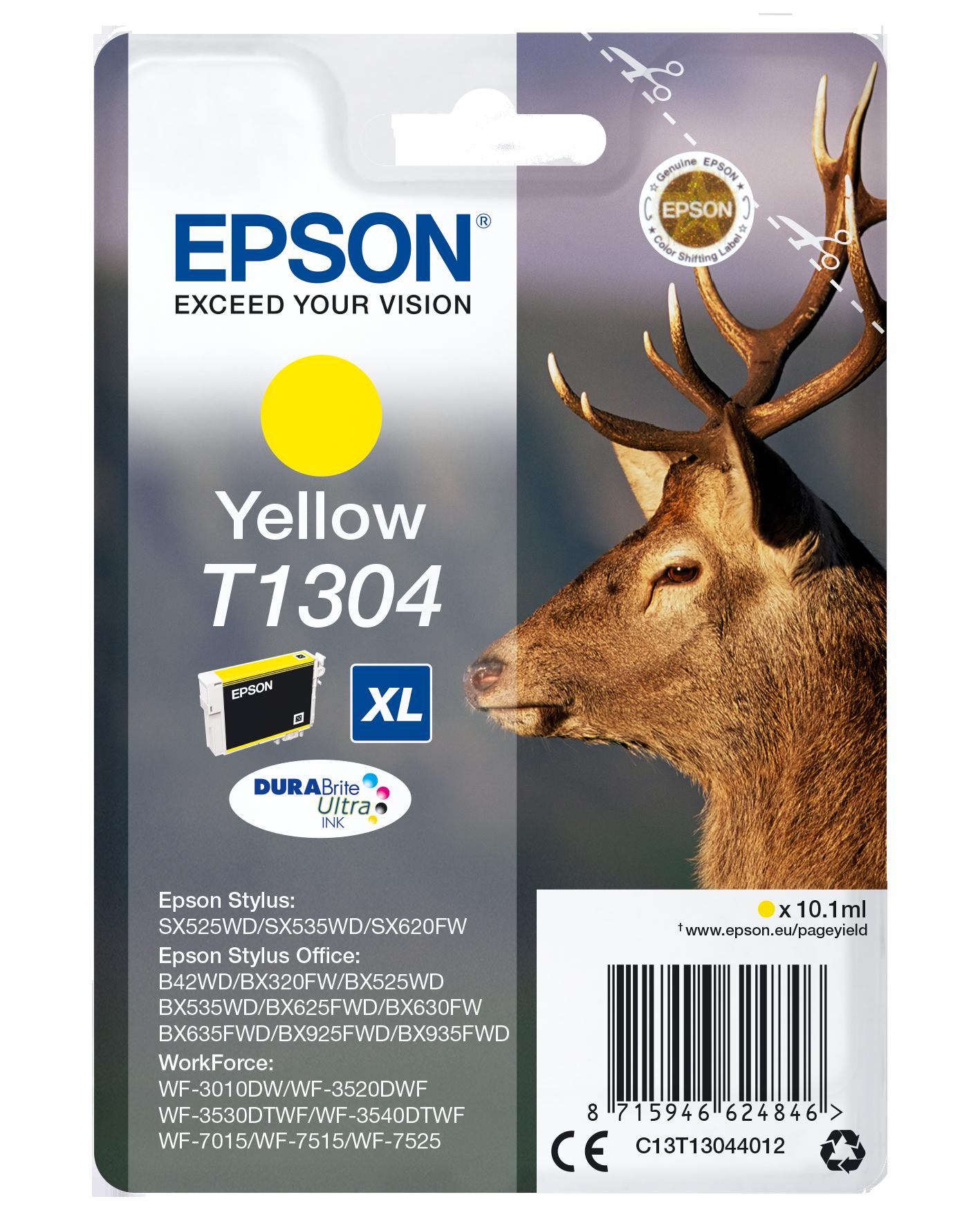 Comprar Cartucho de tinta C13T13044022 de Epson online.