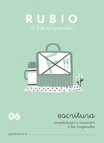 ENVASE DE 10 UNIDADES CUADERNO RUBIO CALIGRAFIA Nº 06 C-06