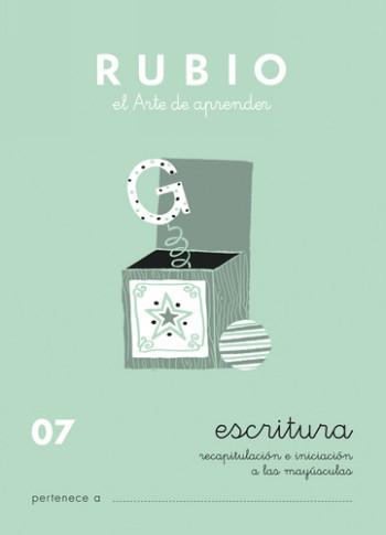 ENVASE DE 10 UNIDADES CUADERNO RUBIO CALIGRAFIA Nº 07 C-07