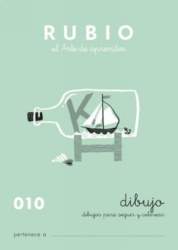 ENVASE DE 10 UNIDADES CUADERNO RUBIO CALIGRAFIA Nº 010 C-010