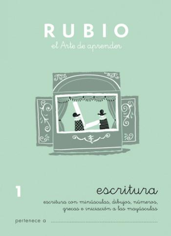 ENVASE DE 10 UNIDADES CUADERNO RUBIO CALIGRAFIA Nº 1 C-1