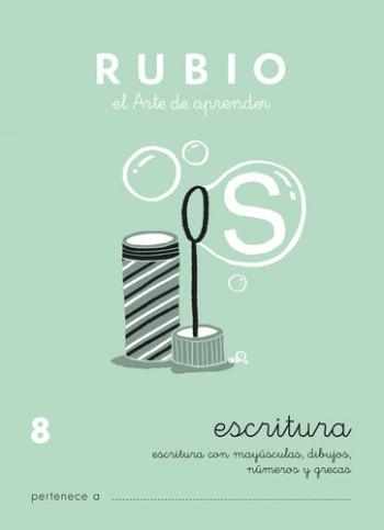 ENVASE DE 10 UNIDADES CUADERNO RUBIO CALIGRAFIA Nº 8 C-8