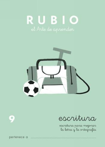 ENVASE DE 10 UNIDADES CUADERNO RUBIO CALIGRAFIA Nº 9 C-9