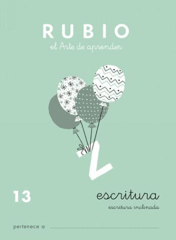 ENVASE DE 10 UNIDADES CUADERNO RUBIO CALIGRAFIA Nº 13 C-13