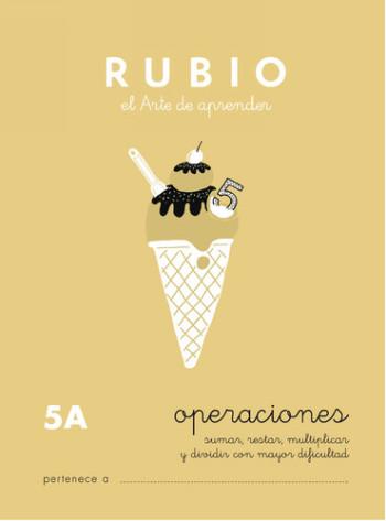 ENVASE DE 10 UNIDADES CUADERNO RUBIO PROBLEMAS Nº 5A PR-5A