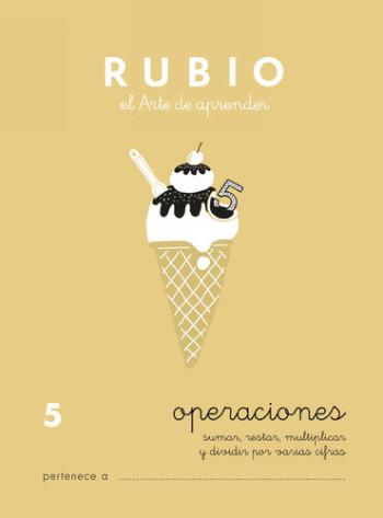 ENVASE DE 10 UNIDADES CUADERNO RUBIO PROBLEMAS Nº 5 PR-5