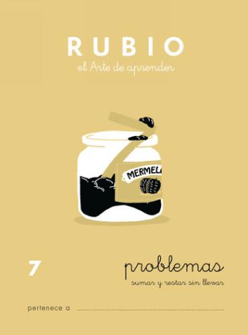 ENVASE DE 10 UNIDADES CUADERNO RUBIO PROBLEMAS Nº 7 PR-7