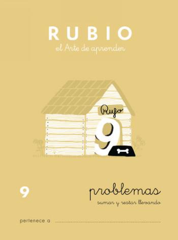 ENVASE DE 10 UNIDADES CUADERNO RUBIO PROBLEMAS Nº 9 PR-9