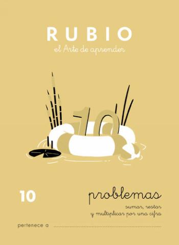 ENVASE DE 10 UNIDADES CUADERNO RUBIO PROBLEMAS Nº 10 PR-10
