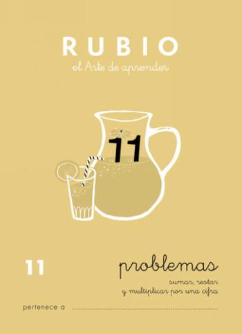 ENVASE DE 10 UNIDADES CUADERNO RUBIO PROBLEMAS Nº 11 PR-11