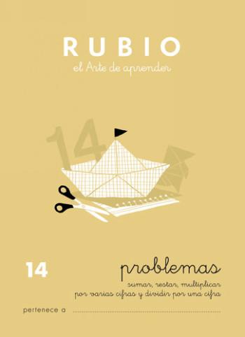 ENVASE DE 10 UNIDADES CUADERNO RUBIO PROBLEMAS Nº 14 PR-14