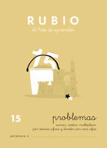ENVASE DE 10 UNIDADES CUADERNO RUBIO PROBLEMAS Nº 15 PR-15