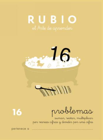 ENVASE DE 10 UNIDADES CUADERNO RUBIO PROBLEMAS Nº 16 PR-16