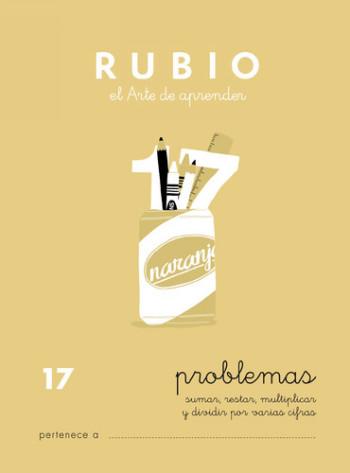 ENVASE DE 10 UNIDADES CUADERNO RUBIO PROBLEMAS Nº 17 PR-17