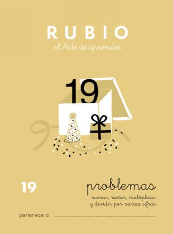 ENVASE DE 10 UNIDADES CUADERNO RUBIO PROBLEMAS Nº 19 PR-19