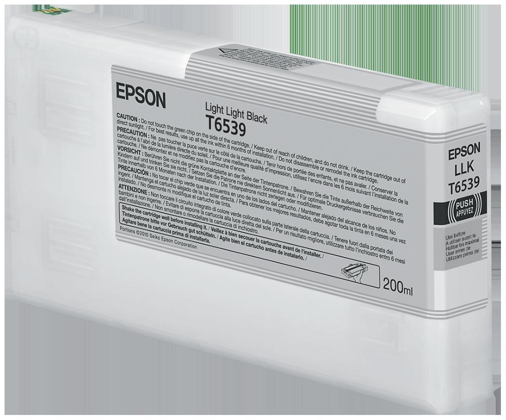 Cartucho de Tinta Gris Claro 200 ml Epson T6539